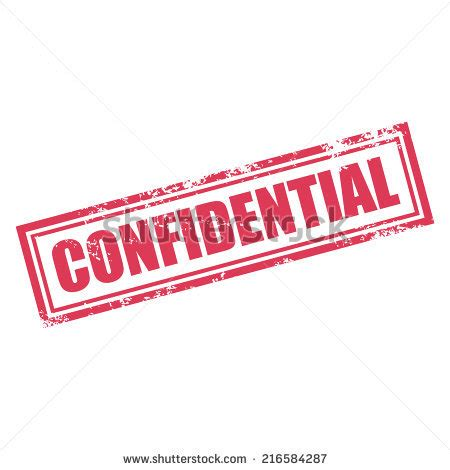 Business Confidentiality Statement Sample Statements